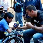 Фабрисио Вердум дает интервью