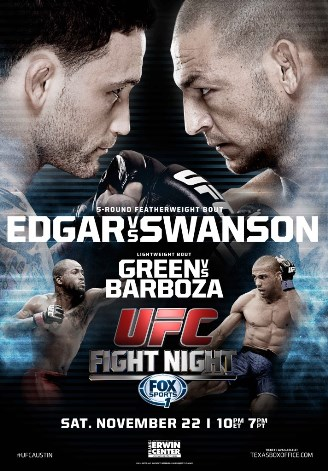 Постер UFC Fight Night — Edgar vs. Swanson