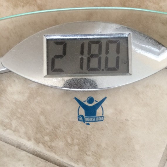 Весы под Джоном Джонсом