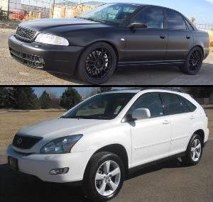 Audi s4 и Lexus RX 350, украденные у Диего Санчеса