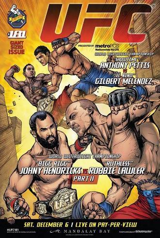 UFC 181 — Hendricks vs. Lawler 2