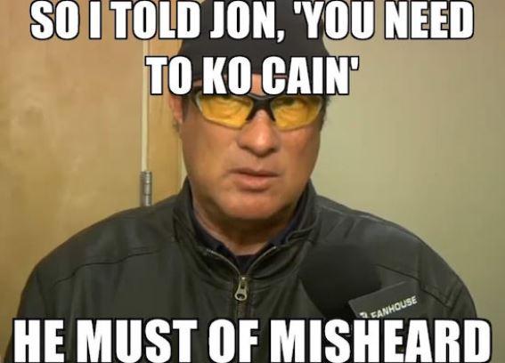 """Я сказал ему: """"Тебе надо нокаутировать Кейна"""". Он ослышался."""
