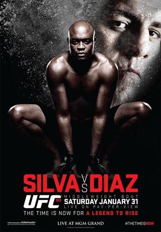 Постер UFC 183: Silva vs. Diaz