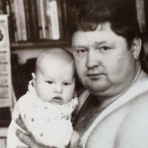 Владимир Минеев с отцом