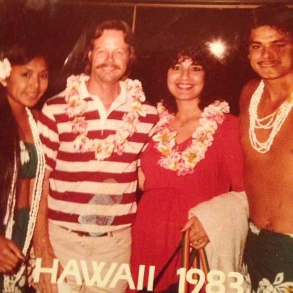 Родители Каба Суонсона (справа) с друзьями
