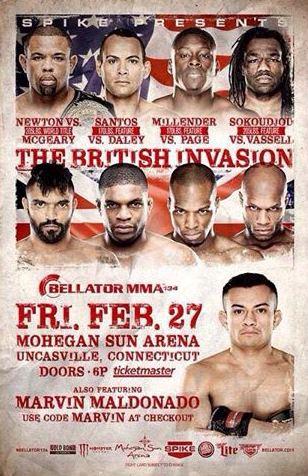 Постер Bellator 134
