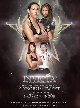 Invicta FC 11: Cyborg vs. Tweet