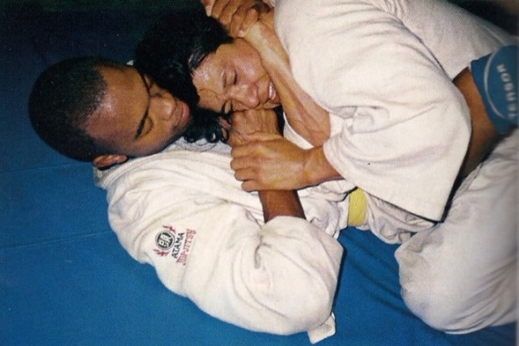 Андерсон Силва в 90-е