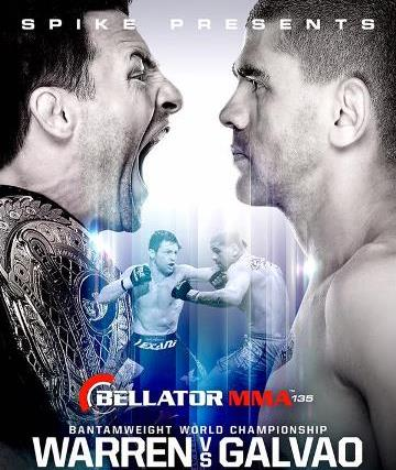Постер Bellator 135: Warren vs. Galvao 2