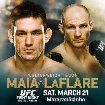 Постер UFC Fight Night: Maia vs. LaFlare