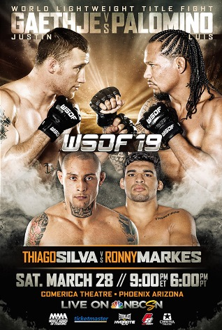 Постер WSOF 19