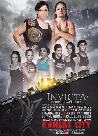 Постер Invicta FC 12: Kankaanpää vs. Souza