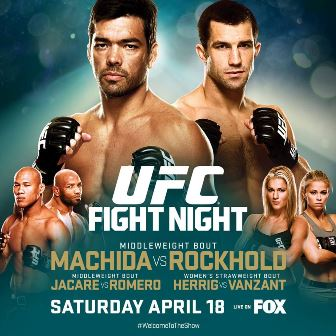Постер UFC on Fox: Machida vs. Rockhold