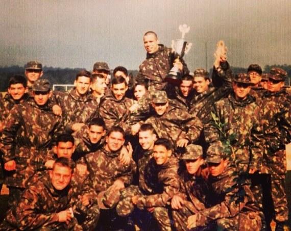 Вандерлей Силва в армии