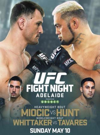 Постер UFC Fight Night: Miocic vs. Hunt