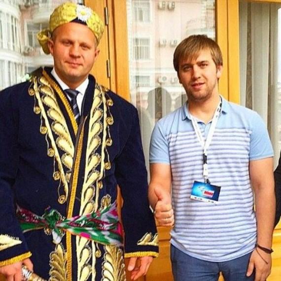 Федор Емельяненко в Таджикистане