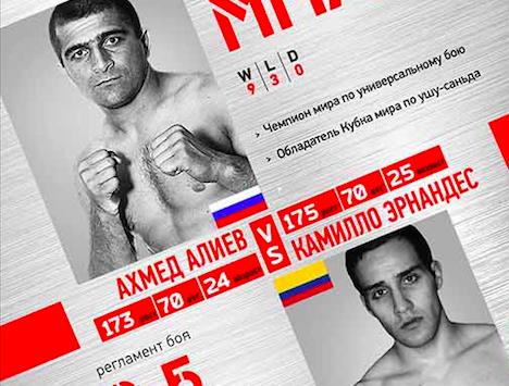 Ахмед Алиев vs Камилло Эрнандес