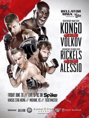 Постер Bellator 139: Kongo vs. Volkov