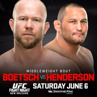 Постер UFC Fight Night: Boetsch vs. Henderson