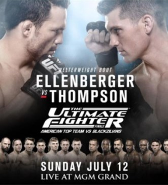 Постер TUF 21 Finale: American Top Team vs. Blackzilians