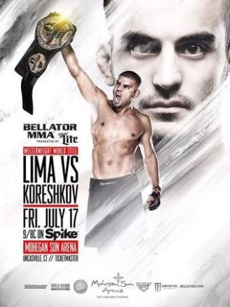 Постер Bellator 140: Lima vs. Koreshkov