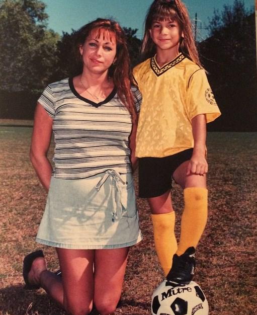 Тиша Торрес с матерью