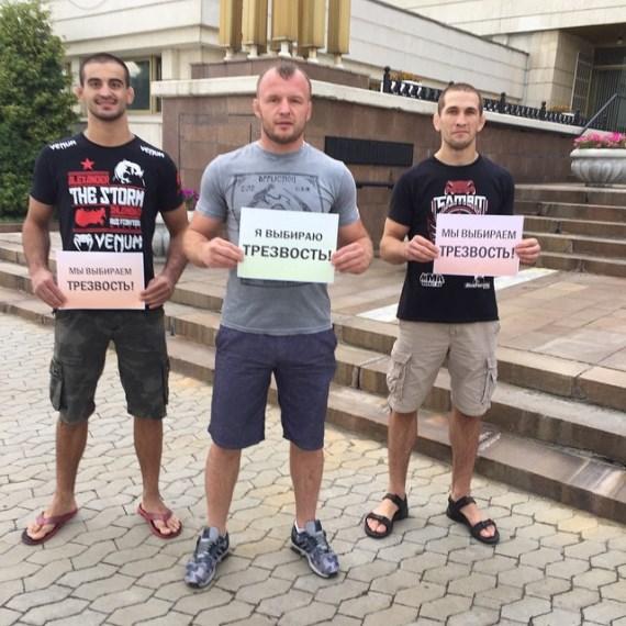 Андрей Корешков, Александр Шлеменко, Александр Сарнавский