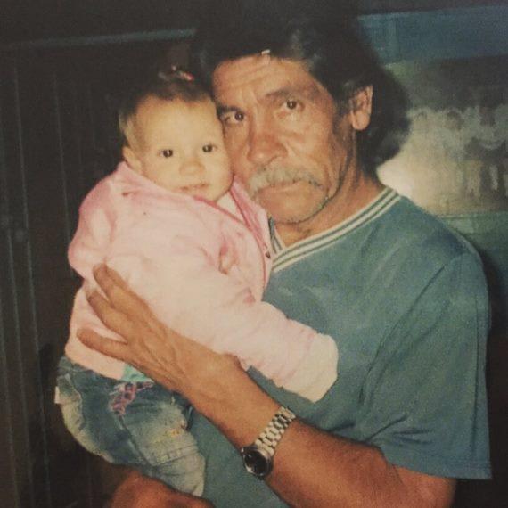 Джуниор Дос Сантос с отцом