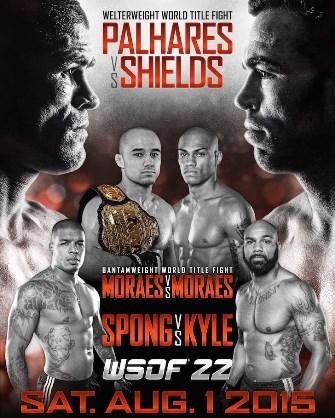 Постер WSOF 22: Palhares vs. Shields