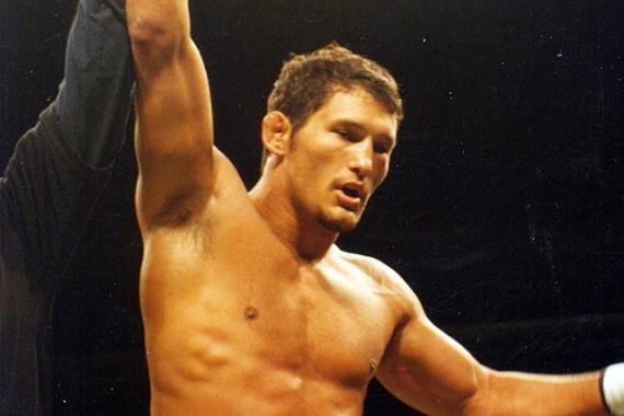 Дэн Хендерсон после первой победы в 1997