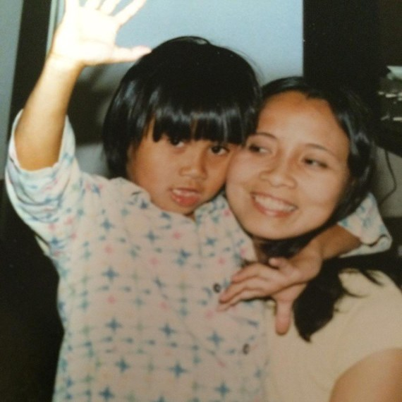 Канг Ли с матерью