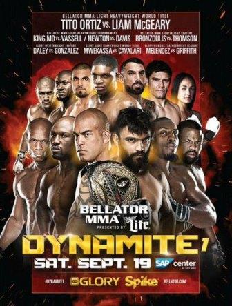 Постер Bellator 142 : Dynamite