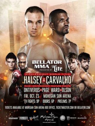 Постер Bellator 144: Halsey vs. Carvalho