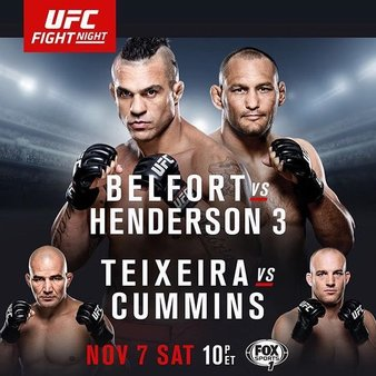 Постер UFC Fight Night: Belfort vs. Henderson 3