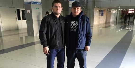 Хабиб и Абдулманап Нурмагомедовы