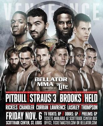 Постер Bellator 145