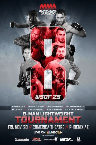 Постер WSOF 25: Lightweight Tournament