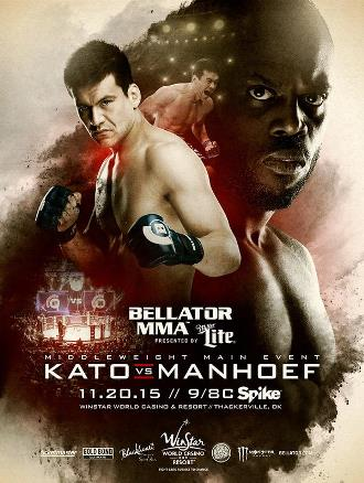 Результаты Bellator 146: Kato vs. Manhoef