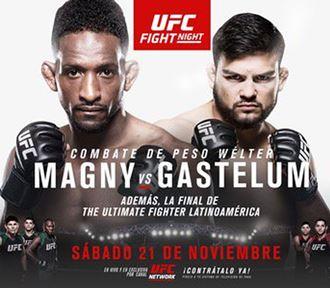 Результаты и бонусы TUF Latin America 2 Finale: Magny vs. Gastelum