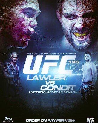 Результаты и бонусы UFC 195: Lawler vs. Condit