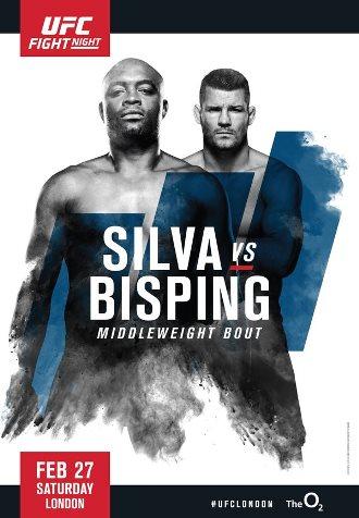 Результаты и бонусы UFC Fight Night 84: Silva vs. Bisping