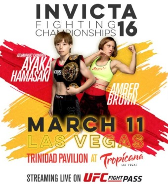 Результаты Invicta FC 16: Hamasaki vs. Brown
