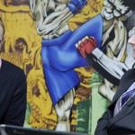 Денис Гольцов (Слева)