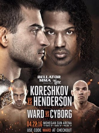 Результаты Bellator 153: Koreshkov vs. Henderson