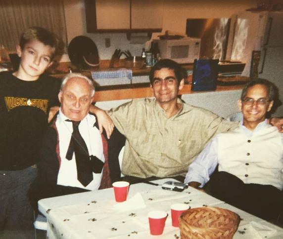 Майкл Кьеза с семьей