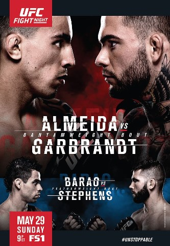 Результаты и бонусы UFC Fight Night: Almeida vs. Garbrandt