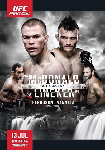 Результаты и бонусы UFC Fight Night: McDonald vs. Lineker