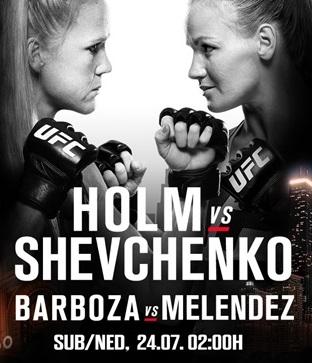 Результаты и бонусы UFC on Fox: Holm vs. Shevchenko