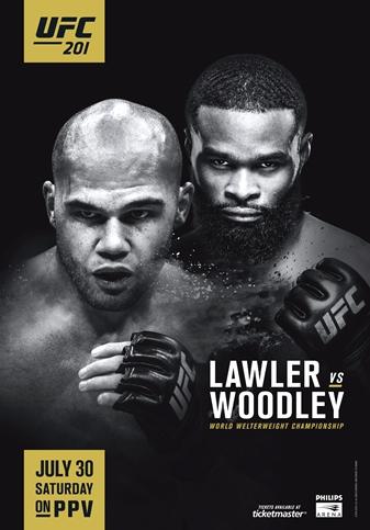 Результаты и бонусы UFC 201: Lawler vs. Woodley