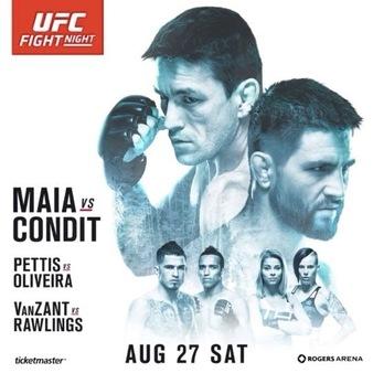 Результаты и бонусы UFC on Fox: Maia vs. Condit